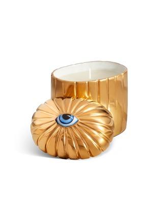 细节 –点击放大 - L'OBJET - Lito眼睛图案香氛蜡烛-金色