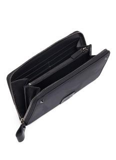 Valentino 迷彩拉链钱包