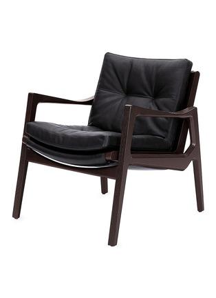 首图 –点击放大 - ClassiCon - Euvira真皮实木扶手椅