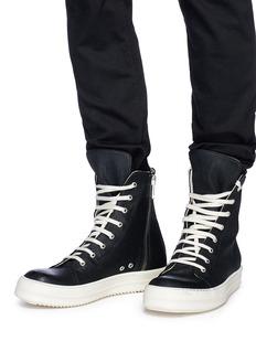 Rick Owens x BIRKENSTOCK  拼色高筒运动鞋