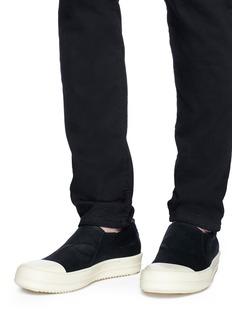 Rick Owens x BIRKENSTOCK  高帮系带帆布运动鞋