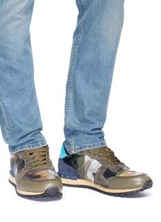 Valentino Camouflage Rockrunner迷彩运动鞋