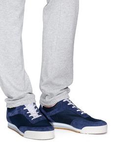Spalwart Pitch Low绒面拼接运动鞋
