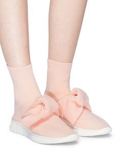 JOSHUA SANDERS 蝴蝶结饰运动袜靴