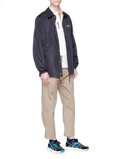 VALENTINO 品牌名称缩写纯棉衬衫