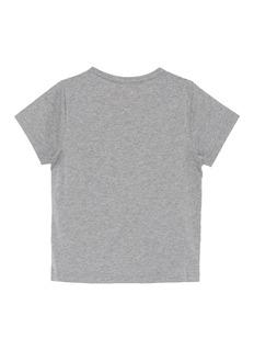ACNE STUDIOS Mini Nash儿童款方脸徽章纯棉T恤