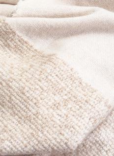 OYUNA Kalo羊绒混羊毛毯-米色