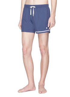 DANWARD Elba条纹点缀抽绳泳裤