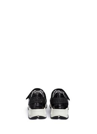 背面 - 点击放大 - PIERRE HARDY - 拼接效果真皮运动鞋