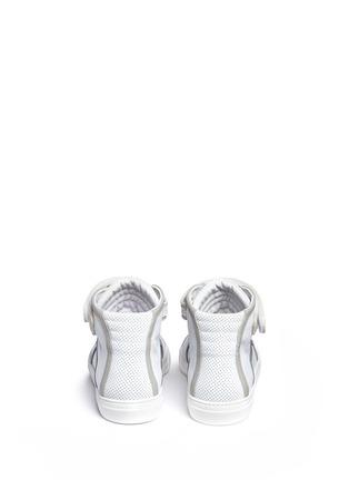 背面 - 点击放大 - PIERRE HARDY - 网眼牛皮拼色高筒运动鞋