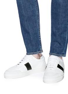 Axel Arigato Dunk拼接设计拼色真皮运动鞋