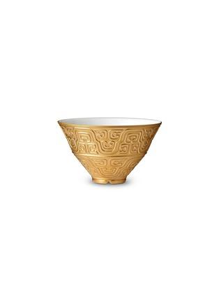 首图 –点击放大 - L'OBJET - HAN镀金雕花汤碗