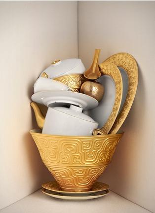 - L'OBJET - HAN镀金雕花汤碗