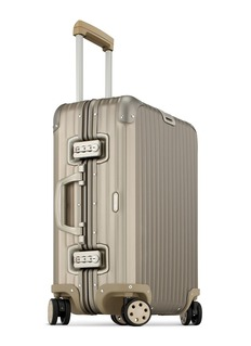 RIMOWA TOPAS TITANIUM MULTIWHEEL®铝制行李箱(45升)