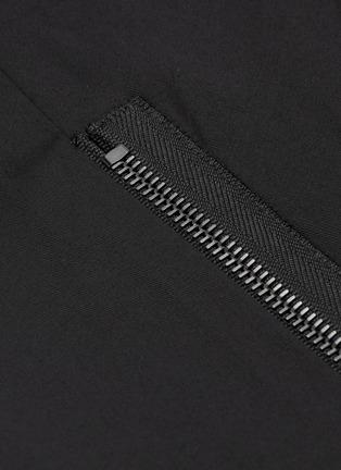 - Lanvin - 纯棉斜纹布机车长裤