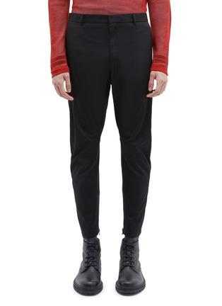 首图 - 点击放大 - Lanvin - 纯棉斜纹布机车长裤