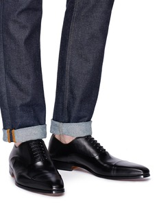Magnanni 光滑真皮系带鞋