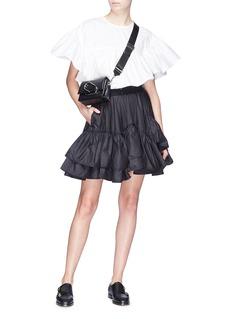 3.1 PHILLIP LIM 搭叠荷叶边喇叭半裙