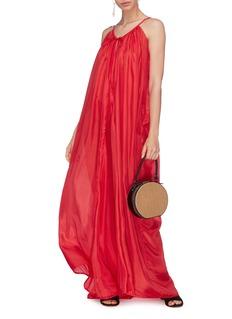 Kalita Mercury吊带真丝电力纺连衣裙
