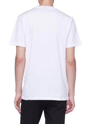 背面 - 点击放大 - Lanvin - 反光条纹品牌名称纯棉T恤