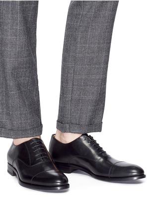 模特儿示范图 - 点击放大 - ANTONIO MAURIZI - 真皮牛津鞋