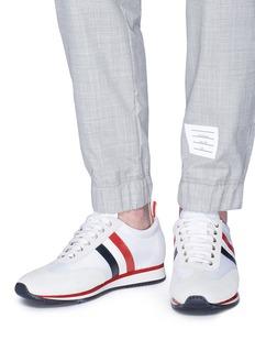 THOM BROWNE 拼色条纹运动鞋