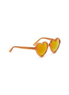SONS+DAUGHTERS EYEWEAR Lola儿童款爱心造型镜面太阳眼镜