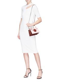 Christopher Esber 挖剪镂空设计纯色连衣裙