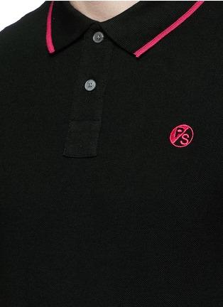 细节 - 点击放大 - PS BY PAUL SMITH - 品牌标志刺绣POLO衫