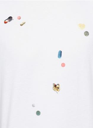 细节 - 点击放大 - PS PAUL SMITH - 趣味药丸胶印纯棉T恤
