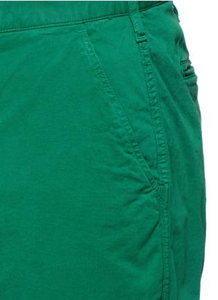 细节 - 点击放大 - PS PAUL SMITH - 单色棉质短裤