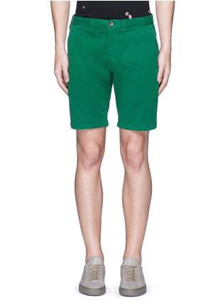 首图 - 点击放大 - PS PAUL SMITH - 单色棉质短裤