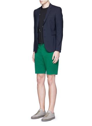 模特儿示范图 - 点击放大 - PS PAUL SMITH - 单色棉质短裤