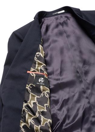 - PS PAUL SMITH - 细格纹羊毛西服外套