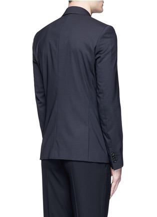背面 - 点击放大 - PS PAUL SMITH - 细格纹羊毛西服外套
