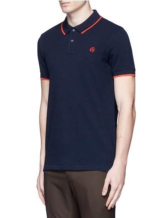 正面 -点击放大 - PS PAUL SMITH - 品牌标志刺绣POLO衫