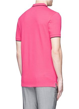 背面 - 点击放大 - PS Paul Smith - 品牌标志刺绣POLO衫