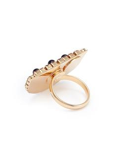 ANTON HEUNIS 仿水晶及人造珍珠西瓜戒指