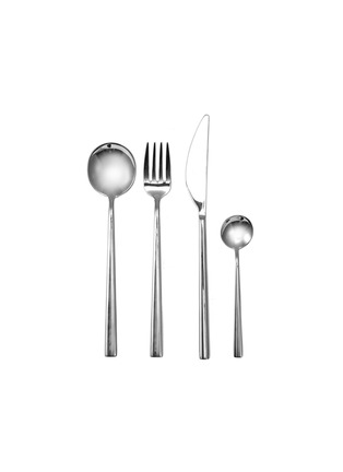 首图 –点击放大 - Mepra - Movida不锈钢餐具24件套-银色