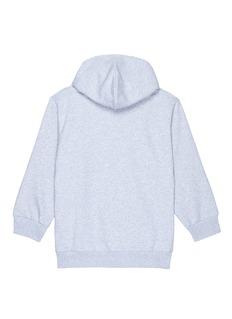 Balenciaga 儿童款品牌名称混棉连帽卫衣
