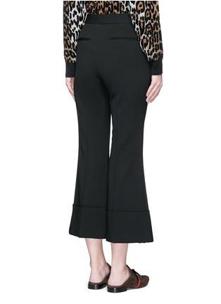 背面 - 点击放大 - STELLA MCCARTNEY - 绉绸阔腿喇叭九分裤