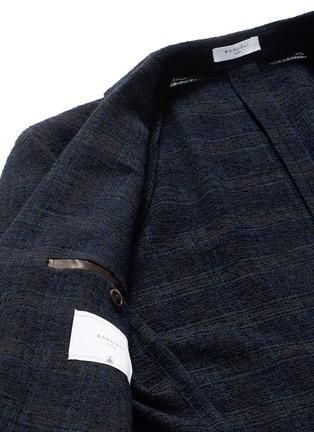 - BOGLIOLI - 格纹混羊毛西服外套