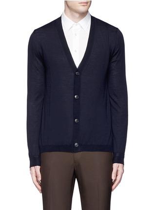 首图 - 点击放大 - BOGLIOLI - 单色羊毛针织外套