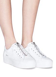 ASH Buzz五角星拉链系带厚底运动鞋