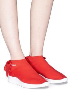 JOSHUA SANDERS 蝴蝶结缀饰运动袜靴