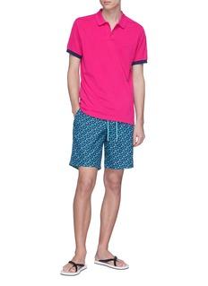 VILEBREQUIN Palatin海龟刺绣纯棉polo衫