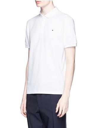 正面 -点击放大 - VALENTINO - 铆钉装饰纯棉POLO衫