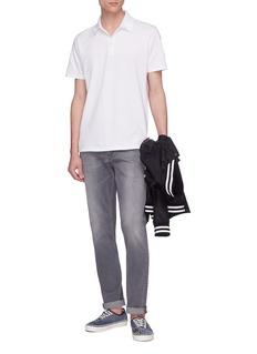 DENHAM Lupo品牌标志刺绣polo衫