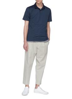 THEORY Standard几何图案polo衫