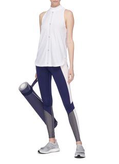 ADIDAS BY STELLA MCCARTNEY Training Mesh品牌名称立领网眼布运动背心